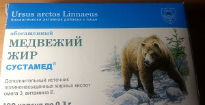 Сустамед с медвежьим жиром