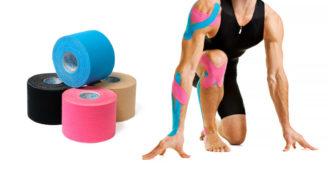 тейпирование коленного сустава